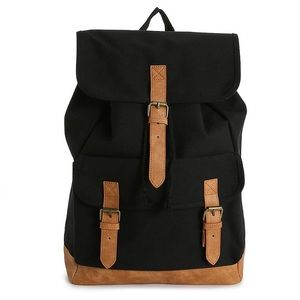 NEW Canvas Backpack - Adjustable Straps
